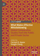 What Makes Effective Whistleblowing