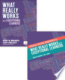 EBUNDLE  What Really Works With Exceptional Learners   Distance Learning Supplement