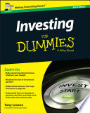 Investing for Dummies   UK Book