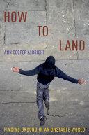 How to Land [Pdf/ePub] eBook