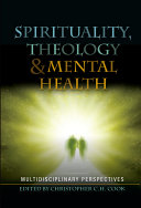 Spirituality  Theology and Mental Health