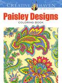 Creative Haven Paisley Designs Collection Coloring Book