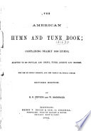 The American Hymns and Tune Book