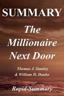 Summary the Millionaire Next Door