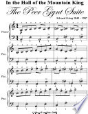 In the Hall of the Mountain King Peer Gynt Suite Easy Piano Sheet Music