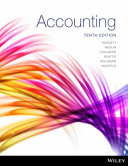 Cover of Accounting 10E Print on Demand (Black and White)