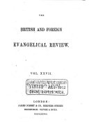 The British and Foreign Evangelical Review