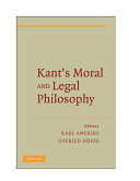 Kant s Moral and Legal Philosophy