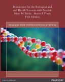 Biostatistics for the Biological and Health Sciences with Statdisk