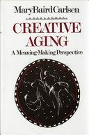 Creative Aging Book PDF