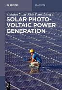 Solar Photovoltaic Generation