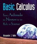 Learning Basic Calculus