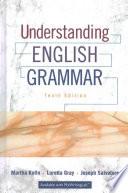 Understanding English Grammar; Exercise Book for Understanding English Grammar