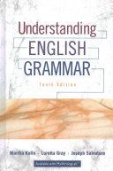 Understanding English Grammar  Exercise Book for Understanding English Grammar