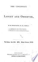 Cincinnati Lancet And Observer Book PDF