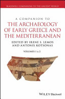Pdf A Companion to the Archaeology of Early Greece and the Mediterranean Telecharger