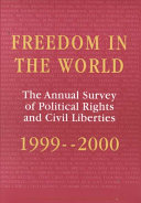 Freedom in the World  1999 2000