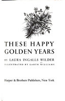 These Happy Golden Years Book PDF