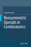 Nonsymmetric operads in combinatorics