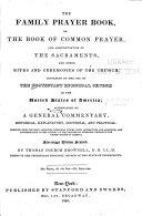 Family Prayer Book