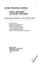 Water Pollution Control Waste Treatment And Water Treatment