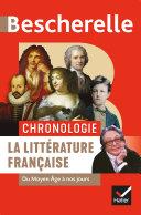 Pdf Bescherelle Chronologie de la littérature française Telecharger