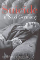 Pdf Suicide in Nazi Germany Telecharger