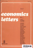 Economics Letters Volume 47 No 1 January 1995