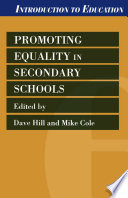 Promoting Equality in Secondary Schools Book
