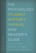 link to The psychology student writer's manual and reader's guide in the TCC library catalog