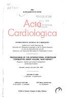 Acta cardiologica