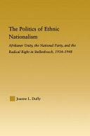 The Politics of Ethnic Nationalism