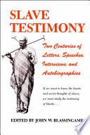 Slave Testimony