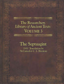 The Researcher's Library of Ancient Texts - Volume III