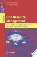 Grid Resource Management Book