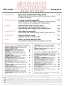 Restaurants   Institutions