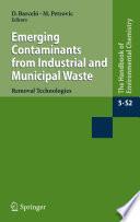 Emerging Contaminants from Industrial and Municipal Waste Book