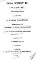 """""""The"""" British Theatre; Or, A Collection of Plays"""
