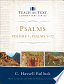 Psalms Volume 1 Teach The Text Commentary Series
