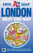 London West End A Z Mini Map