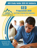 GED Study Guide 2019 All Subjects