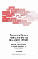 Terrestrial Space Radiation And Its Biological Effects Book PDF