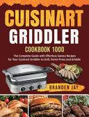 Cuisinart Griddler Cookbook 1000