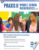 Praxis II Middle School Mathematics (5169) With Online Practice Tests