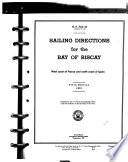 Sailing Directions for the Bay of Biscay