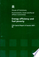 Energy Efficiency And Fuel Poverty