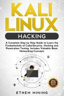 Kali Linux Hacking