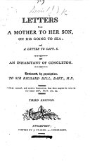 Letters from a Mother to her Son, on his going to Sea: and a Letter to Capt. S. By an inhabitant of Congleton (Jane Davis) ... Third edition
