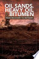 Oil Sands Heavy Oil Bitumen Book PDF