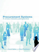 Procurement Systems  : A Cross-Industry Project Management Perspective
